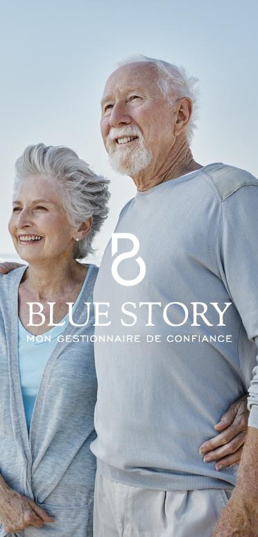 Logo Blue Story
